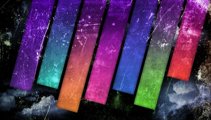 Equalizer multicolor photo manipulation textures wallpaper