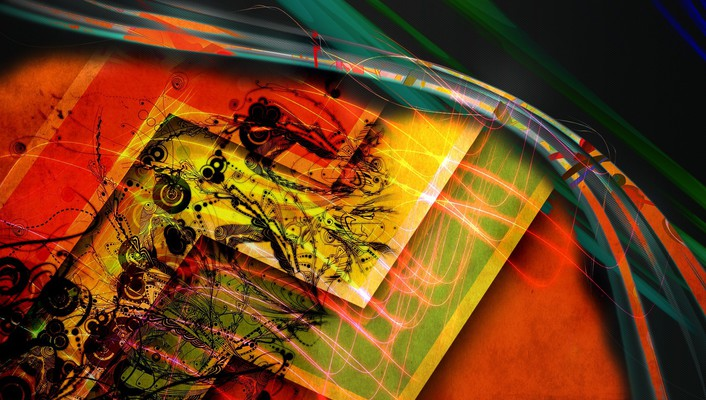 Yankiesnack abstract artwork backgrounds colors wallpaper