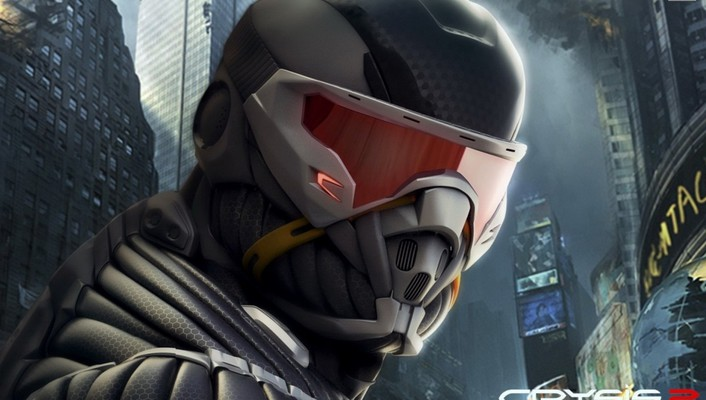 Crysis 2 games soldiers video wallpaper