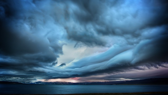 Clouds landscapes nature wallpaper