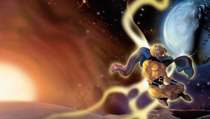 Comics planets superheroes marvel sentry wallpaper