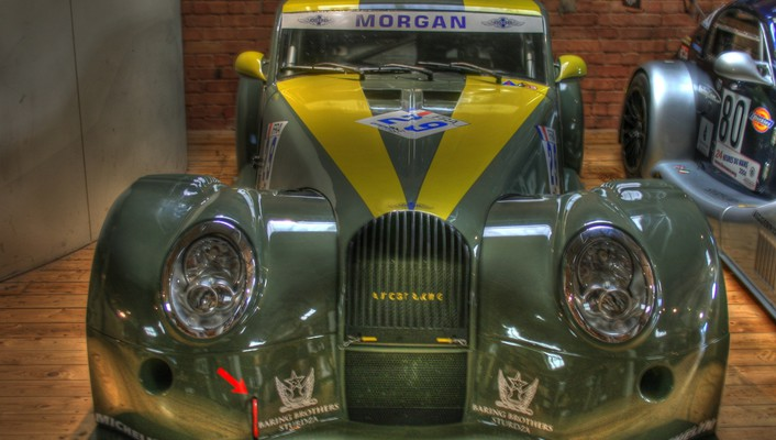 Morgan aero racing wallpaper