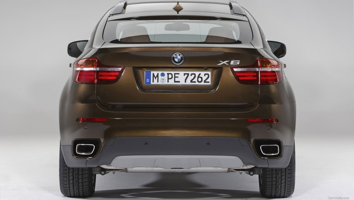 Bmw x6 cars rear view wallpaper