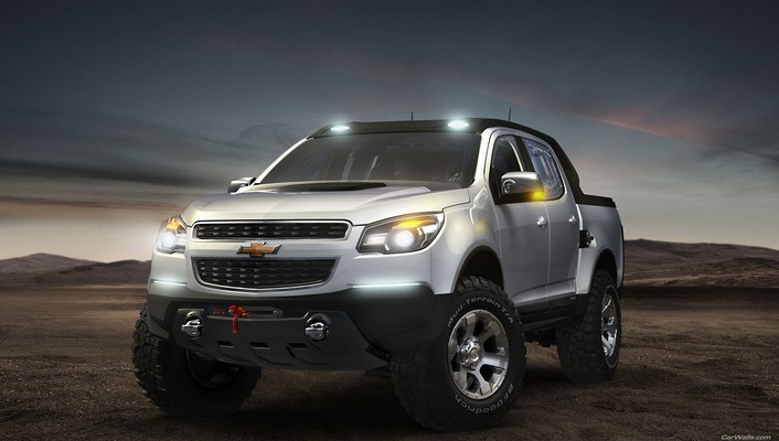 Chevrolet colorado cars rally vehicles wallpaper