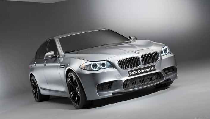 Bmw m5 concept cars wallpaper
