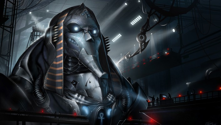 Dmitriy prozorov artwork fantasy art pharaoh project wallpaper