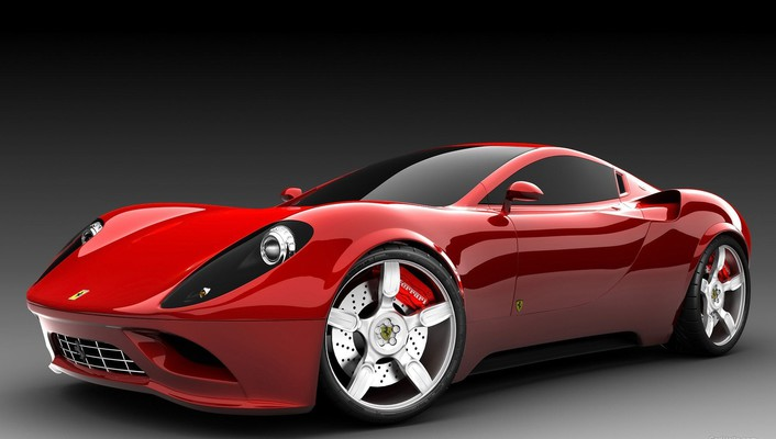 Ferrari dino concept cars wallpaper