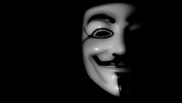 Anonymous expect us guy fawkes black legion wallpaper