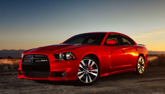 Dodge charger cars red wallpaper