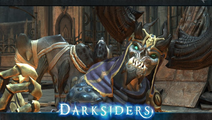 Video games fantasy art darksiders 2 wallpaper