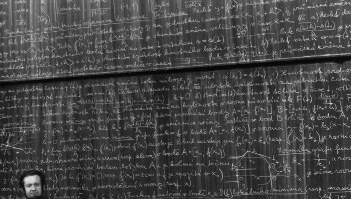 Czech blackboards mathematics teachers monochrome wallpaper