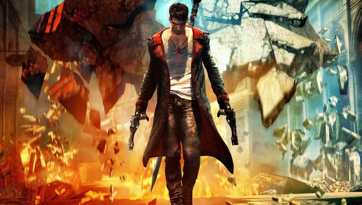 Video games devil may cry dmc game art wallpaper