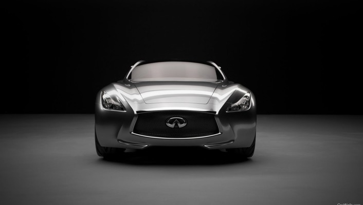 Infiniti essence concept cars front view wallpaper