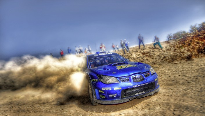 Subaru rally cars wallpaper