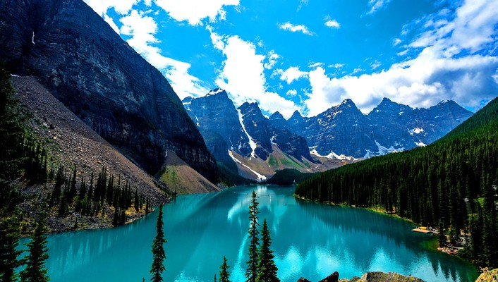 Moraine lake canada wallpaper
