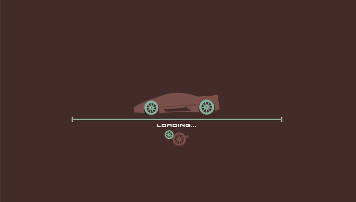 Cars loading wallpaper