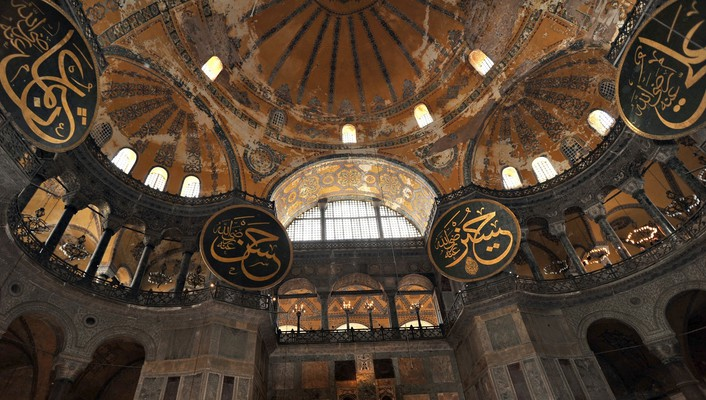 Hagia sophia mosques wallpaper