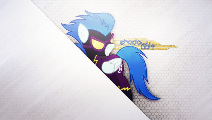 My little pony: friendship is magic shadowbolts wallpaper