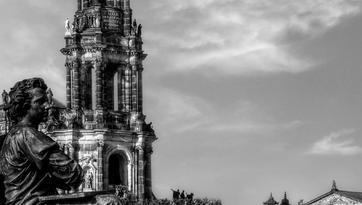 Architecture dresden hdr photography wallpaper