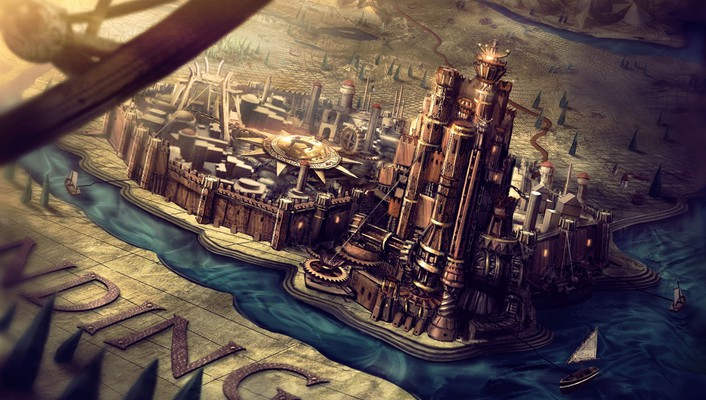 Game of thrones kings landing kings tv series wallpaper