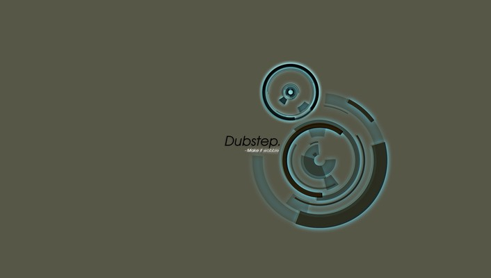 Abstract dubstep minimalistic music simple wallpaper