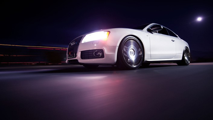 Audi s5 luxury sport cars white wallpaper