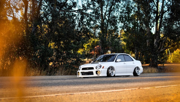 Subaru impreza cars tuning wallpaper