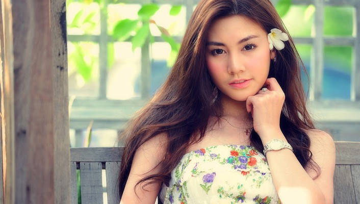 Asian girl beautiful wallpaper
