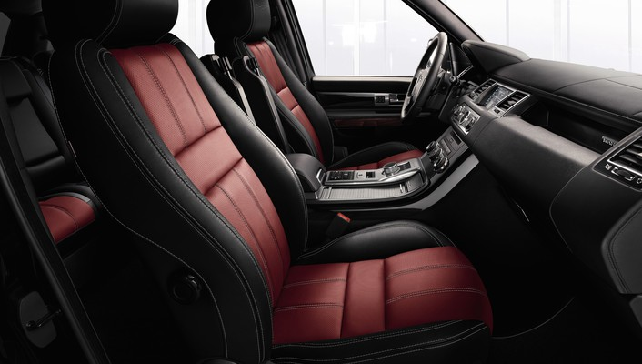 Land rover limited edition range interior wallpaper