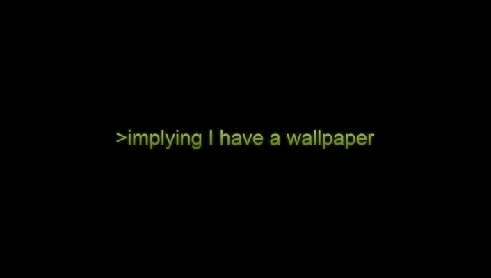 Black background implying letters text wallpaper