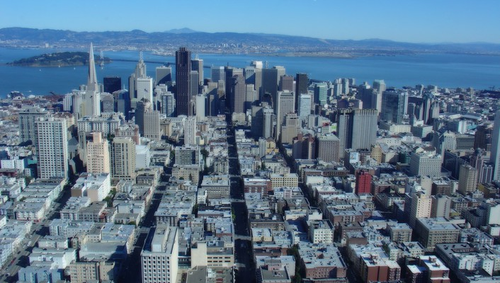 San francisco cityscapes downtown wallpaper