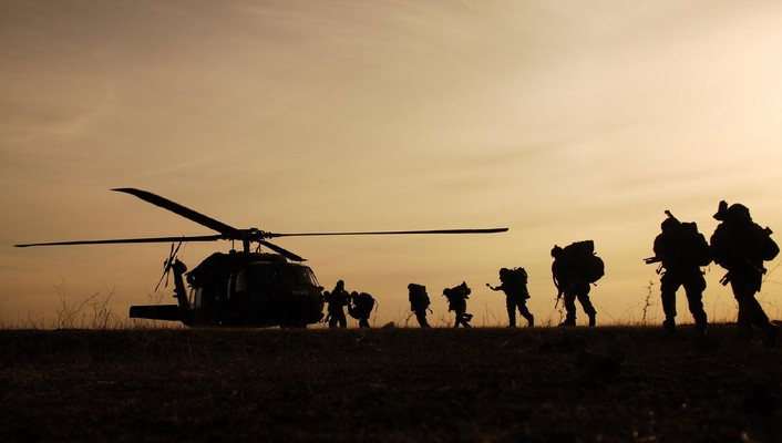 Uh60 black hawk military soldiers war wallpaper