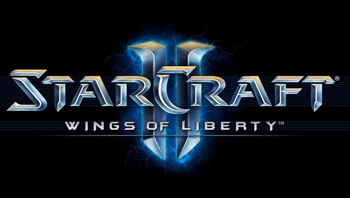 Starcraft ii logos video games wallpaper