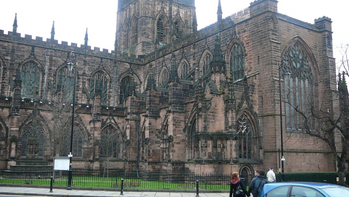 Chester england architecture wallpaper