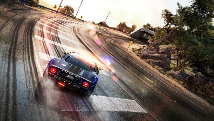 Gt40 need for speed hot pursuit drifting wallpaper