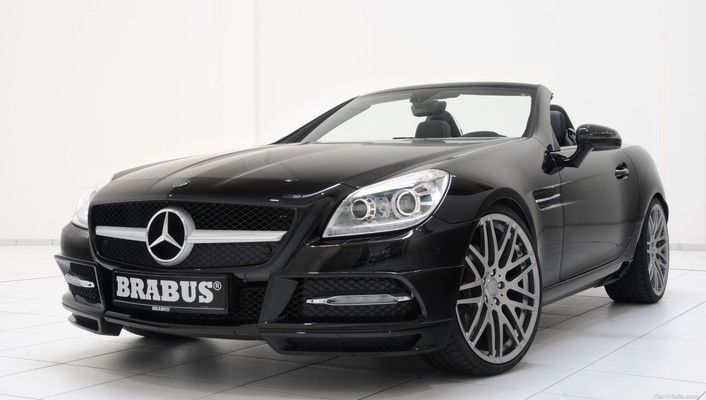 Brabus mercedesbenz slkclass automobiles cars wallpaper