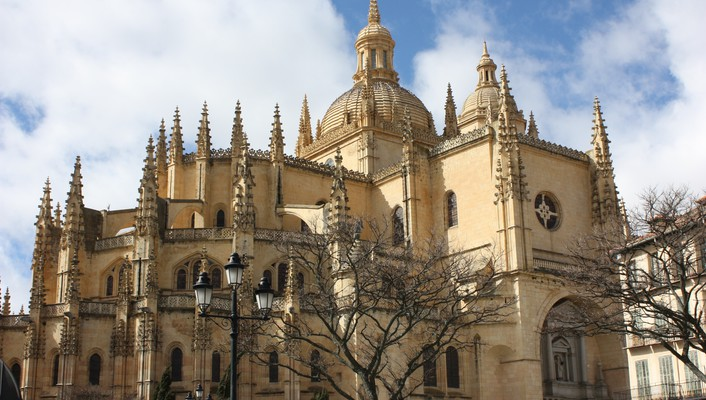 Architecture cathedrals landscapes wallpaper