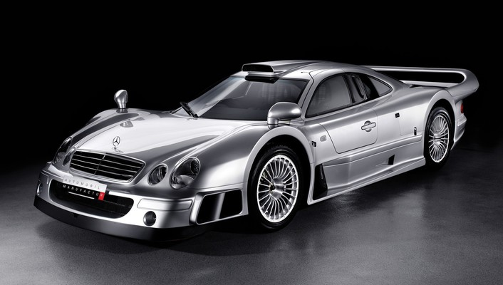 Mercedesbenz clk gtr coupé black background cars wallpaper
