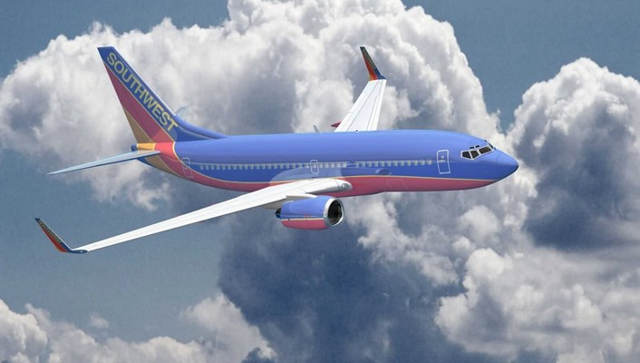 Aircraft airliners southwest airlines boeing 737-700 wallpaper