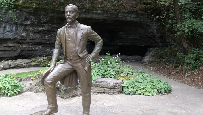 Jack daniels bronze outdoors park statues wallpaper