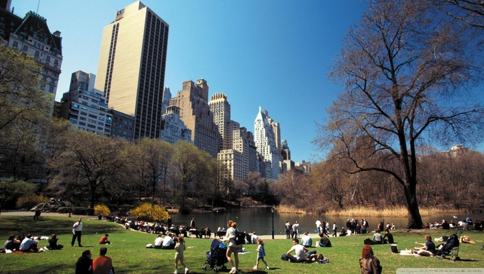Central park landscapes nature wallpaper