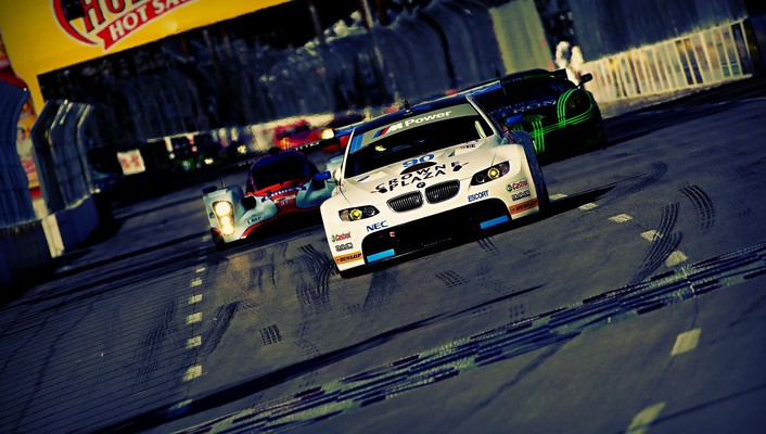Bmw m3 gt2 le mans racing cars wallpaper