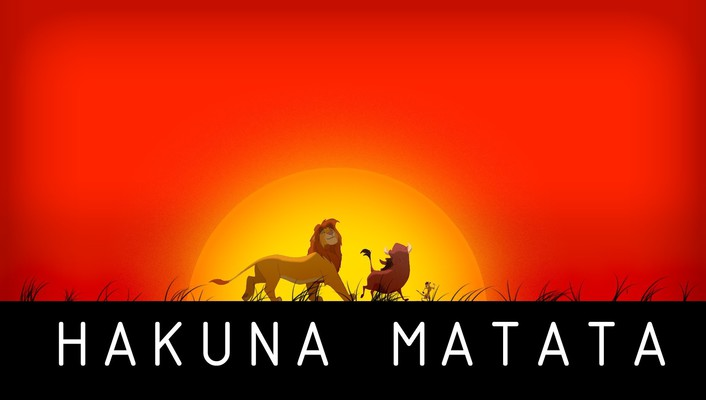 Hakuna matata the lion king no worries wallpaper