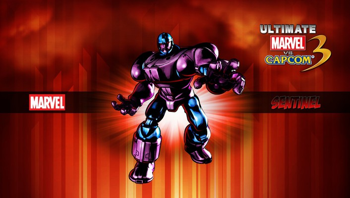 Capcom marvel vs 3 comics sentinel wallpaper