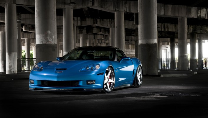 Chevrolet corvette z06 the bridge automobiles wallpaper