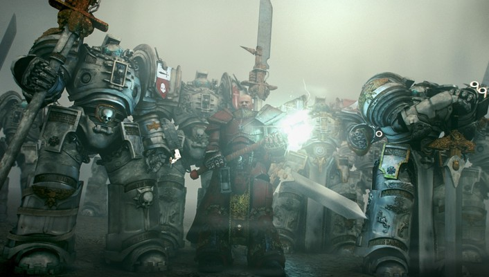 Grey knights space marines video games wallpaper