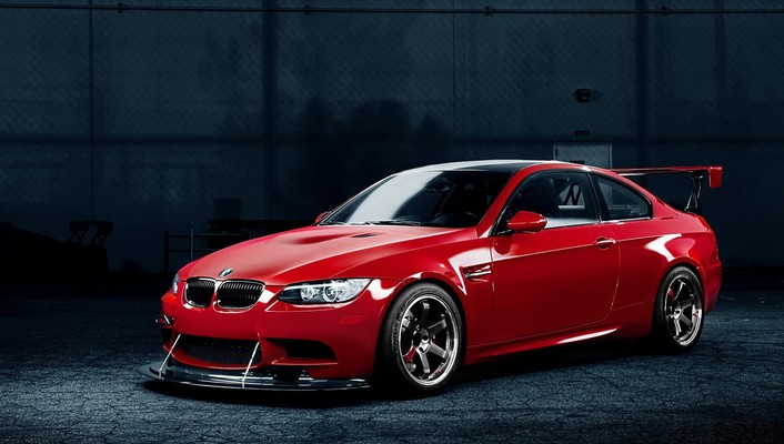 Bmw m3 cars racing red tuning wallpaper