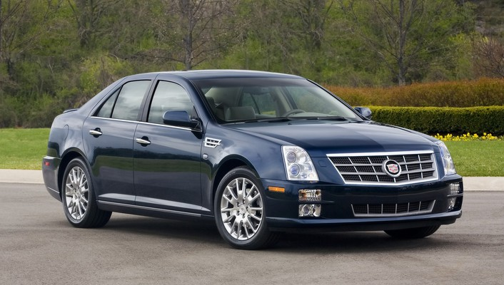 Cars front cadillac 2008 side wallpaper