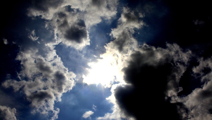 Clouds sun skyscapes sunny wallpaper