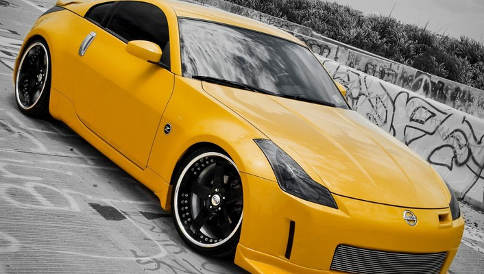 Cars vehicles nissan 350z jdm wallpaper